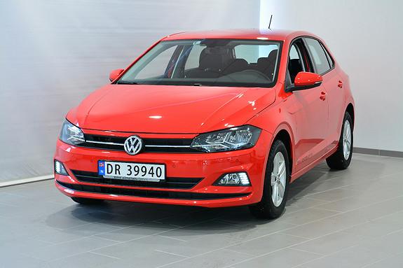 Volkswagen Polo 95 TSI BUS. INTRO  2018, 2000 km, kr 219000,-