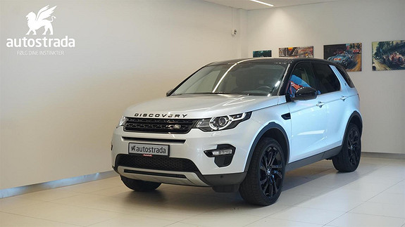Land Rover Discovery Sport TD4 190HK HSE 7 seter
