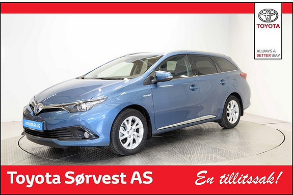 Toyota Auris Touring Sports 1,8 Hybrid Active Sport  2017, 6 600 km, kr 279 000,-