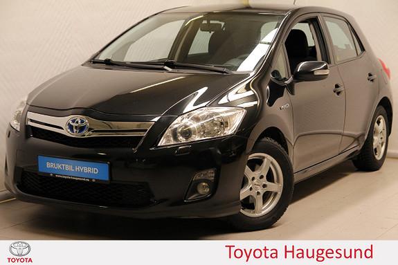 Toyota Auris 1,8 Hybrid Advance HSD Autoklima, cruise, AUX/USB  2011, 94548 km, kr 130000,-