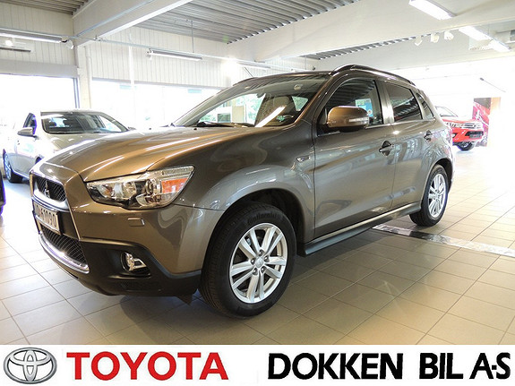 Mitsubishi ASX Instyle+ 1.8-116 ClearTec  2011, 123000 km, kr 119000,-