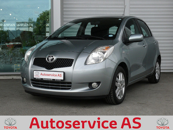 Toyota Yaris 1,4 D-4D Sol  2009, 86000 km, kr 79000,-