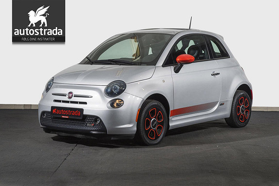 Fiat 500 100% Elektrisk 0% EK 1.720,- pr. mnd