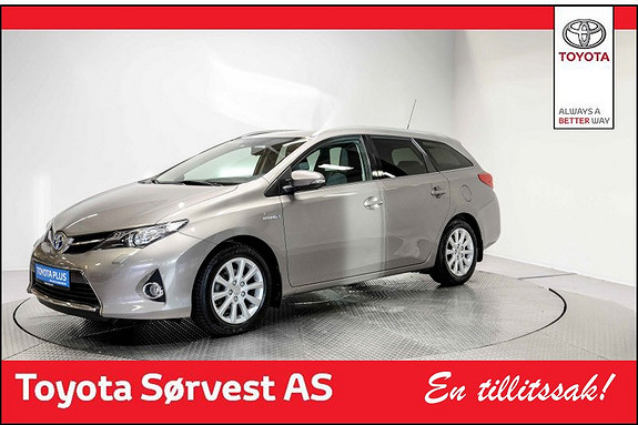 Toyota Auris Touring Sports 1,8 Hybrid Active+  2015, 49140 km, kr 219000,-