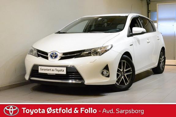Toyota Auris 1,8 Hybrid E-CVT Active+ , TILH.FESTE/DAB+ M.M.,  2015, 54800 km, kr 198000,-
