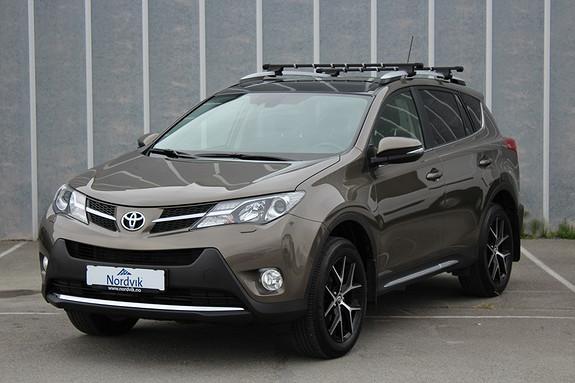 Toyota RAV4 2,2 D-4D 4WD Executive Skinn, Navi, Hengerfeste, Soltak  2014, 66500 km, kr 329000,-
