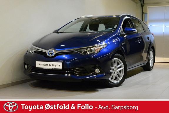 Toyota Auris Touring Sports 1,8 Hybrid Active S , SAFETY SENSE,  2016, 26100 km, kr 244000,-