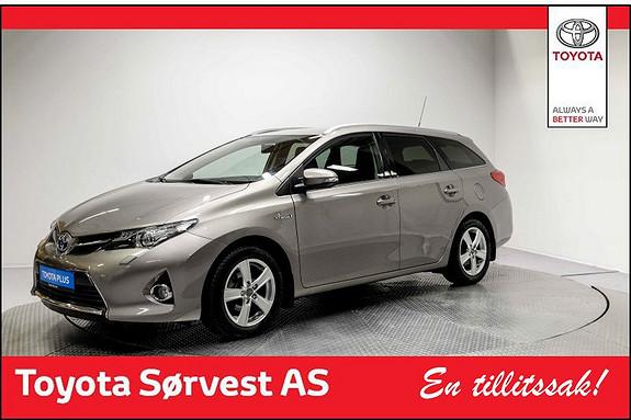 Toyota Auris Touring Sports 1,8 Hybrid Active+ Lettkjørt! GPS! Automat  2015, 42783 km, kr 219000,-