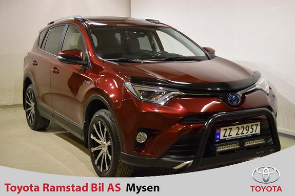 Toyota RAV4 Hybrid AWD Executive , toppmodell med mye utstyr !  2016, 41500 km, kr 423000,-
