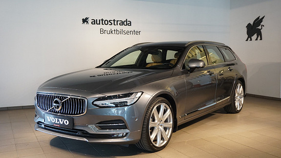Volvo V90 D5 235hk Inscription AWD aut  2017, 27 500 km, kr 639 000,-
