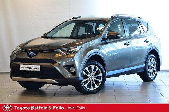 Toyota RAV4 Hybrid 4WD Executive  2016, 28042 km, kr 439000,-