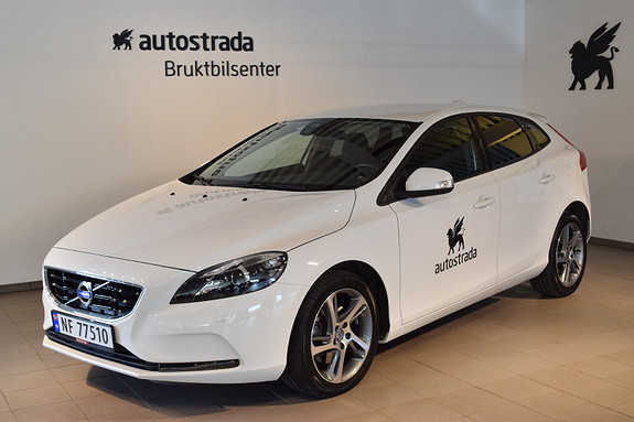 Volvo V40 D2 Kinetic 82g  2016, 35 000 km, kr 229 000,-