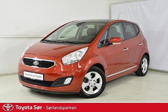 Kia Venga 1,6 Exclusive Aut. bensin/automatgir, panoramatak  2012, 30500 km, kr 149000,-