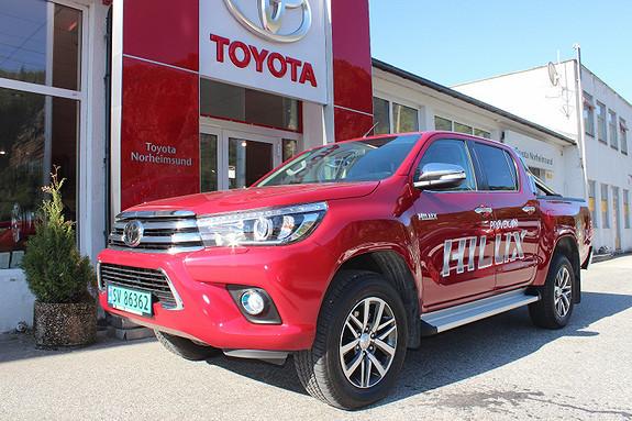Toyota HiLux 2.4 D-4D 4WD SR+ Aut. TECTYL DEMOBIL  2018, 3700 km, kr 449900,-