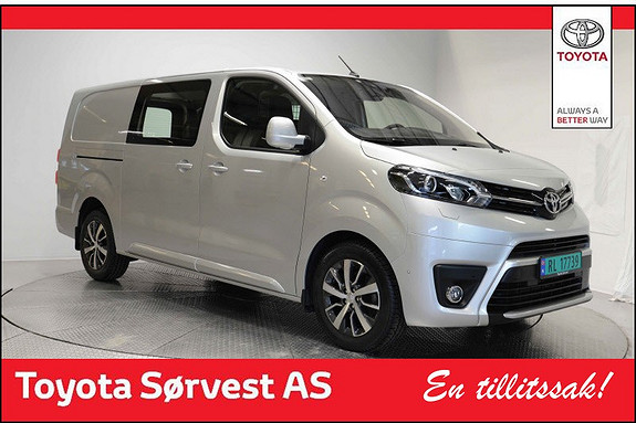 Toyota Proace 2,0 D 122 Comfort Plus L2H1  2017, 14500 km, kr 309000,-