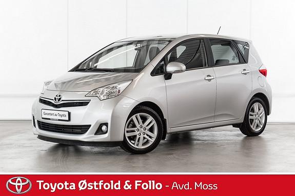 Toyota Verso-S 1,33 Dynamic S&S Multidrive S /AUTOMATGIR/HENGERFESTE/E  2012, 77000 km, kr 134000,-