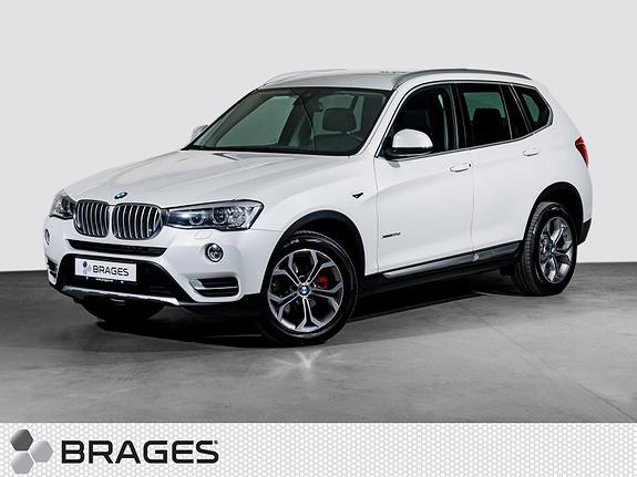 BMW X3 xDrive20d 163hk aut Skinn, Navi, Krok, Dab+, Pdc, Xenon++  2015, 70300 km, kr 439000,-