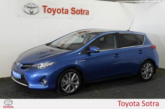 Toyota Auris 1,8 Hybrid E-CVT Executive  2013, 90838 km, kr 184900,-