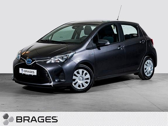 Toyota Yaris 1,5 Hybrid Active S e-CVT Navi, R.kam, DAB+, SafetySense  2016, 44600 km, kr 175000,-