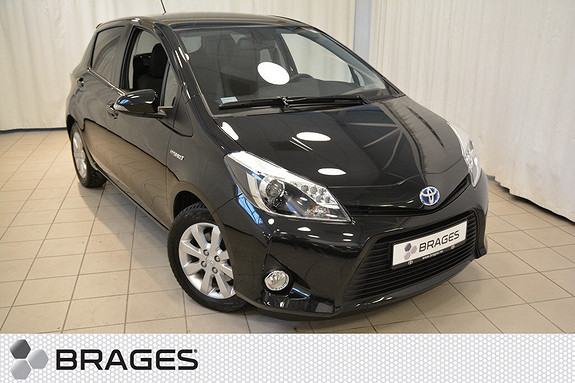 Toyota Yaris 1,5 Hybrid Style e-CVT aut PANORAMA NAVI DELSKINN  2014, 64400 km, kr 149000,-