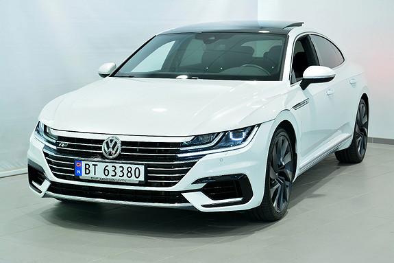 Volkswagen Arteon 240 TDI DSG 4MOTION R-LINE  2017, 33500 km, kr 529000,-