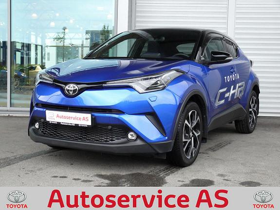 Toyota C-HR 1,2T Dynamic Tech 4WD aut  2018, 4000 km, kr 399000,-