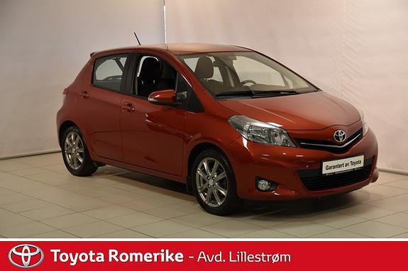 Toyota Yaris 1,33 Style  2013, 24350 km, kr 125000,-