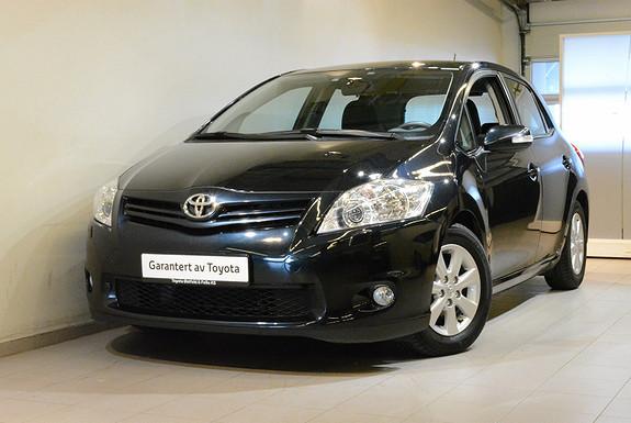 Toyota Auris D-4D Silver-Edition  2012, 80500 km, kr 85000,-