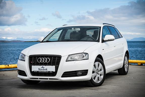 Audi A3 Sportback 1,6 TDI  2009, 86740 km, kr 119000,-