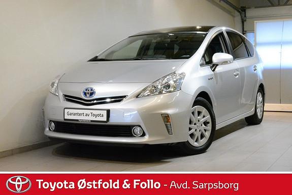 Toyota Prius+ Seven 1,8 VVT-i Hybrid Executive , JBL/NAVIGASJON/PANORAMATAK  2014, 66000 km, kr 252000,-