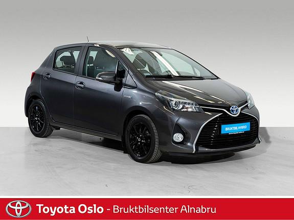 Toyota Yaris 1,5 Hybrid Active S e-CVT Automat, DAB+,  2016, 38424 km, kr 179900,-