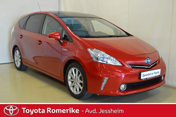 Toyota Prius+ Seven 1,8 VVT-i Hybrid Premium Skinn, panoramatak, klima  2012, 148500 km, kr 179000,-