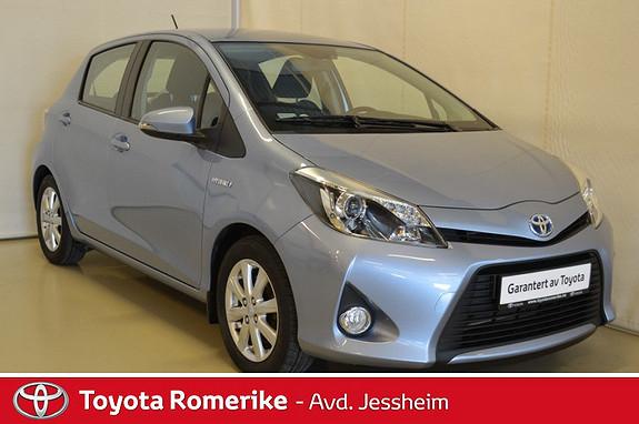 Toyota Yaris 1,5 Hybrid Active e-CVT Navigasjon, ryggekamera, DEFA  2013, 90900 km, kr 139000,-