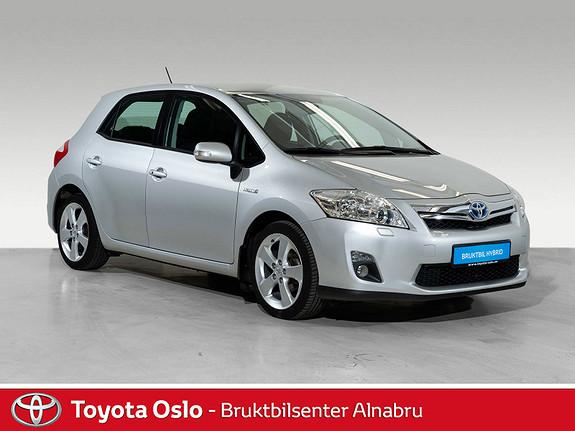 Toyota Auris 1,8 Hybrid Executive HSD Automat, Navi,  2012, 53291 km, kr 144900,-