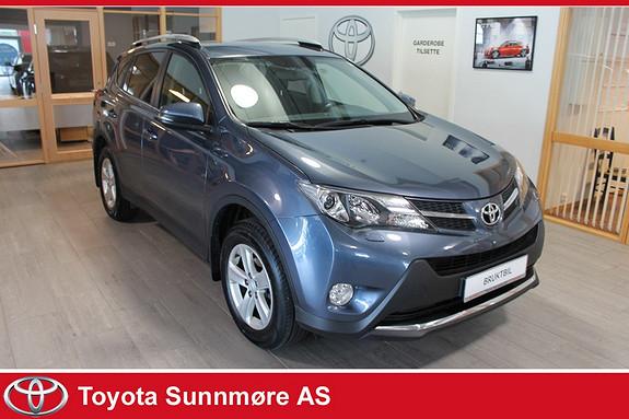 Toyota RAV4 2,0 D-4D 2WD Active **HENGERFESTE**PRISGUNSTIG**UNDERST  2013, 102000 km, kr 179000,-
