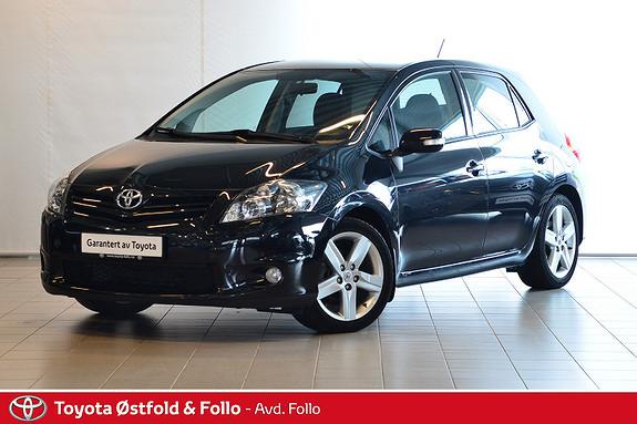 Toyota Auris 1,4 D-4D (DPF) Kuro S-Edition  2011, 39570 km, kr 129000,-