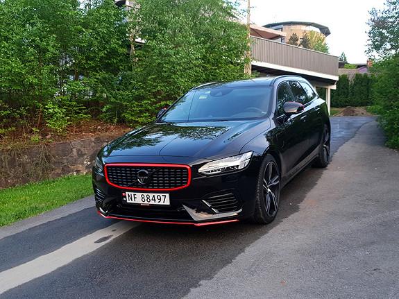 "Volvo V90 T8 407hk R-Design AWD aut ALT UTSTYR!! LUFT, B&W, 20""++  2018, 9900 km, kr 769000,-"