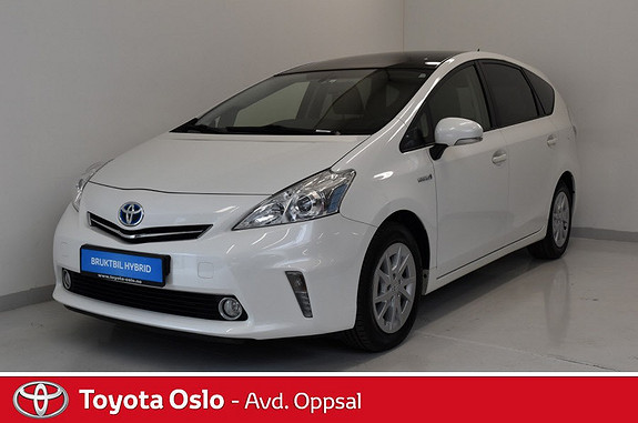 Toyota Prius+ Seven 1,8 VVT-i Hybrid Executive  2013, 84037 km, kr 234900,-