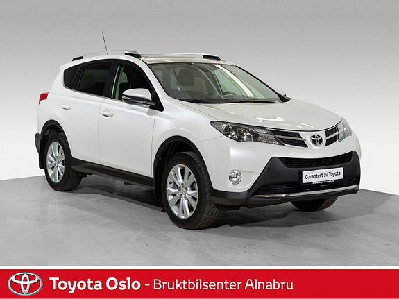Toyota RAV4 2,0 4WD Executive CVT Hengerfeste, Automat,  2014, 71606 km, kr 339900,-