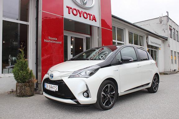 Toyota Yaris 1.5 Hybrid Bi-Tone DEMOBIL TECTYL  2017, 7500 km, kr 239900,-