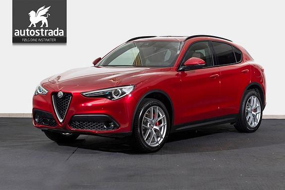 Alfa Romeo Stelvio 2.2d 210hk Q4 Sportspakke Navi H.feste kun 5990,-* imnd  2018, 50 km