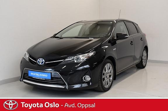Toyota Auris 1,8 Hybrid E-CVT Executive , Delskinn,  2014, 50229 km, kr 209900,-