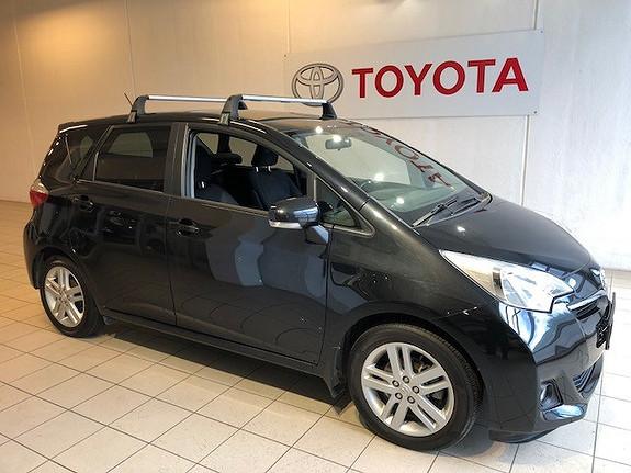 Toyota Verso-S Flerbruksbil 5-seter 1,33 VVT-i aut. Dynamic  2012, 76745 km, kr 128000,-