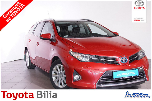 Toyota Auris Touring Sports 1,8 Hybrid Executive  2014, 46 843 km, kr 195 000,-