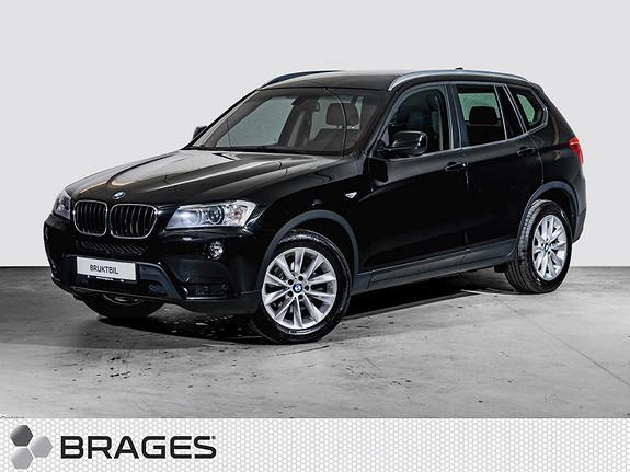 BMW X3 xDrive20d 163hk aut Krok, El.seter, Cruise, PDC, Xenon  2013, 77900 km, kr 335000,-