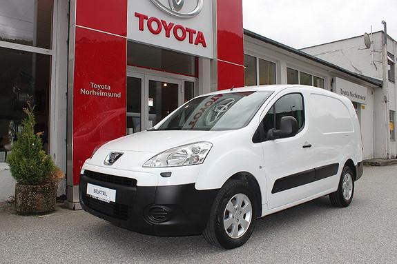 Peugeot Partner 1.6 90hk  2010, 123000 km, kr 79900,-