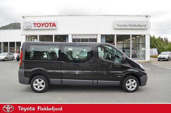 Opel Vivaro 2,0 CDTi ecoFLEX 114hk L2H1 9 SETER  2014, 80782 km, kr 319000,-
