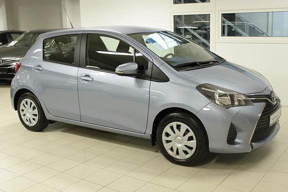 Toyota Yaris 1,33 Active S  2016, 31401 km, kr 169000,-