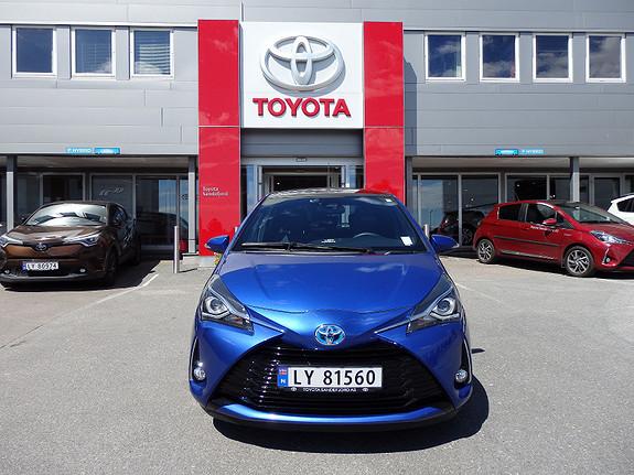 Toyota Yaris 1.5 STYLE HYBRID  2017, 11000 km, kr 229000,-