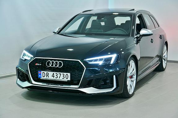 Audi RS4 Avant 2,9 TFSI 450hk quattro tiptronic  2018, 15000 km, kr 1299000,-